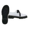 Есенни обувки от еко кожа в бяло