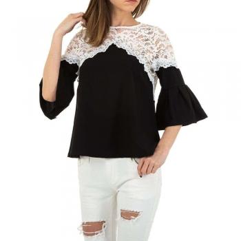 Дамска блуза с декоративна дантела MC Lorene