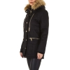 Зимно дамско яке в черно BySwan