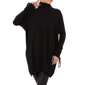 Фин дамски пуловер SHK Paris в черно