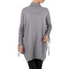 Фин дамски пуловер SHK Paris в сиво