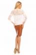 Елегантна дамска блуза Jayloucy в бяло