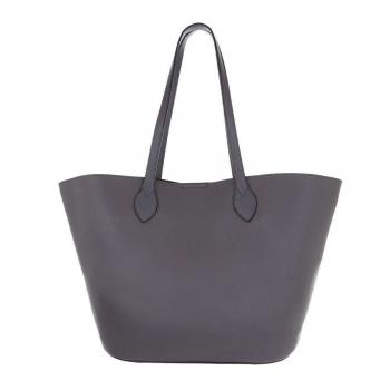 Shopper bag в сив цвят