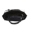 Crocodile texture чанта в черно