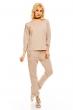 Блуза с нежна декорация Bonito в цвят беже