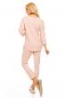 Блуза с нежна декорация Bonito в нежно розово