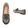 Ежедневни равни дамски обувки с кадифен ефект