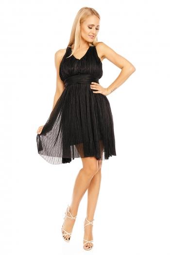 Изискана рокля с преплитания на гърба Osley