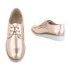 Ежедневни дамски обувки в цвят розово злато FGM