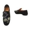 Ежедневни дамски обувки с пищна декорация