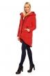 Дамско зимно яке в интензивно червено Jayloucy